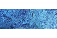 Alpha QT MarbledOcean Blue - Product Image