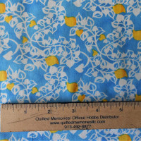 Blue, Yellow & White Print - Product Image