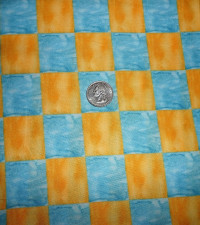 Blue and Yellow Squares - Product Image