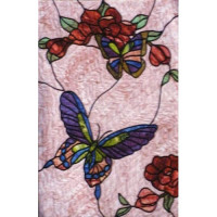 Butterfly & Wild Roses - Product Image