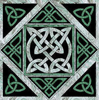 Forrest Knot Celtic Block - Product Image
