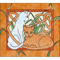 Celtic Cats - Product Image