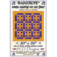 "Raindrops    50""x50"" - Product Image"