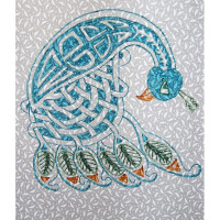 Celtic Peacock - Product Image