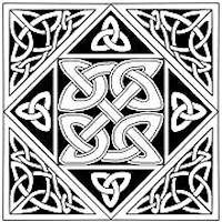 Nigg Stone Knot Celtic Block - Product Image
