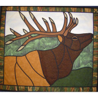 Elk - Stained Glass - Product Image