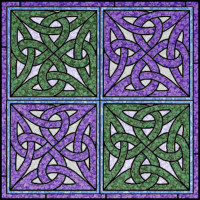 Celtic Knot Panel - Product Image