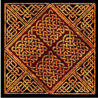 Tapestry Knot Celtic Block - Product Image