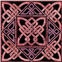 Butterfly Knot Celtic Block - Product Image