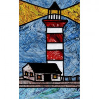 Harbor Town LightNorth Carolina - Product Image