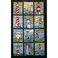 Lighthouse Quilt - Product Image