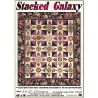 "Stacked Galaxy  65"" x 76"" - Product Image"