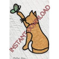 Playful KittyDownloadable Pattern - Product Image