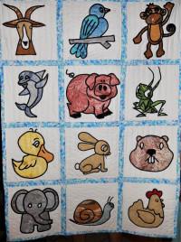 See My New FriendsComplete Set of 12 Blocks - Product Image
