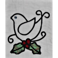 Homespun ChristmasChristmas Bird - Product Image