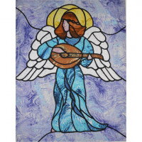 Angel with Mandolin - Product Image