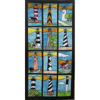 Lighthouses of North Carolina - Product Image