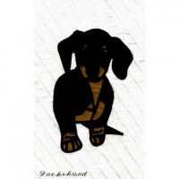 My Dog SeriesDachshund - Product Image
