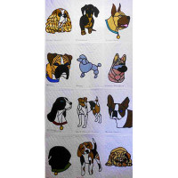My Dog SeriesSet of 12 Patterns - Product Image