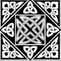 Govan Knot Celtic Block - Product Image