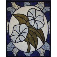 Morning Glory - Stained Glass - Product Image