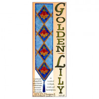"""Golden Lily Bell Pull   Size 50"""" x 50"""" - Product Image"""