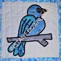 See My New FriendsBirdDownloadable Pattern - Product Image