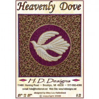 "Heavenly Dove  21""x21"" - Product Image"