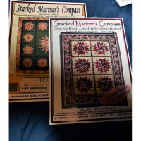 """Stacked Mariners Compass    70"""" x 50"""" - Product Image"""