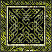 Tri Knot Celtic Block - Product Image