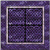 Quarter Knot Celtic Block - Product Image