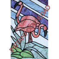 FlamingoDownloadable Pattern - Product Image