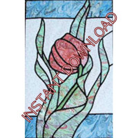 Water TulipDownloadable Pattern - Product Image