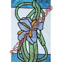 Garden IrisDownloadable Pattern - Product Image